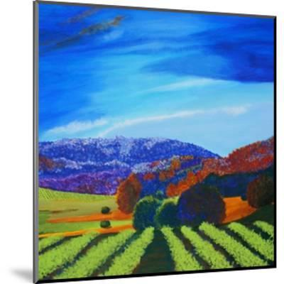 Napa Valley-Herb Dickinson-Mounted Art Print