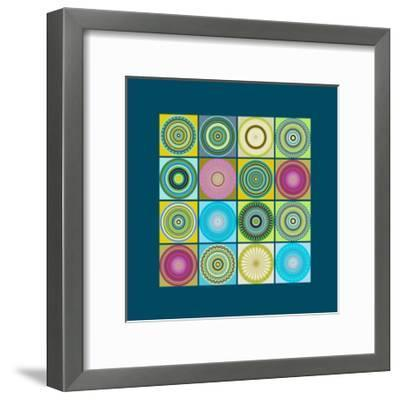 Collage 14-Herb Dickinson-Framed Art Print