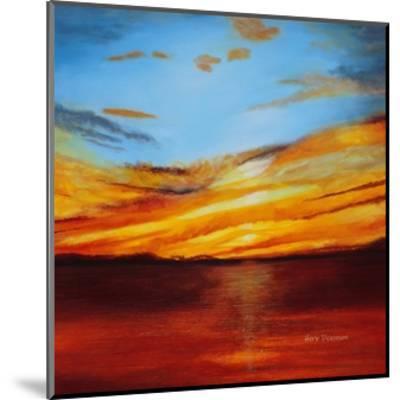 Tranquil Sunset-Herb Dickinson-Mounted Art Print