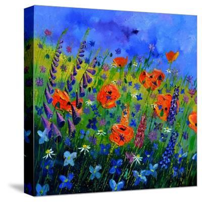 My Garden 88512-Pol Ledent-Stretched Canvas Print