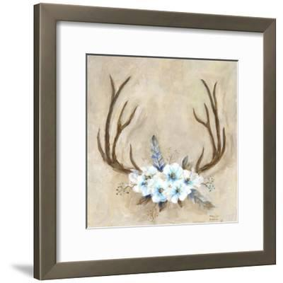 Antlers and Flowers-Marilyn Dunlap-Framed Photographic Print