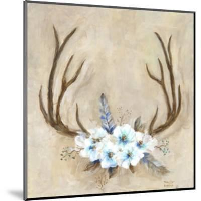 Antlers and Flowers-Marilyn Dunlap-Mounted Photographic Print