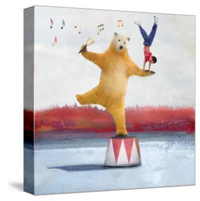 My Big Bear Friend-Nancy Tillman-Stretched Canvas Print