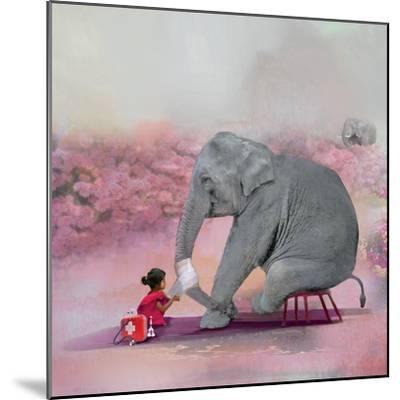 My Elephant Friend-Nancy Tillman-Mounted Premium Photographic Print