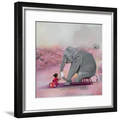 My Elephant Friend-Nancy Tillman-Framed Premium Photographic Print
