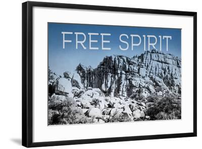 Ombre Adventure VI Free Spirit-Elizabeth Urquhart-Framed Photo