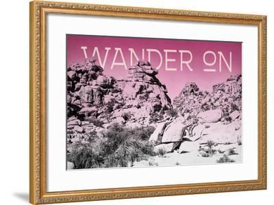 Ombre Adventure IV Wander On-Elizabeth Urquhart-Framed Photo