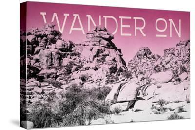 Ombre Adventure IV Wander On-Elizabeth Urquhart-Stretched Canvas Print