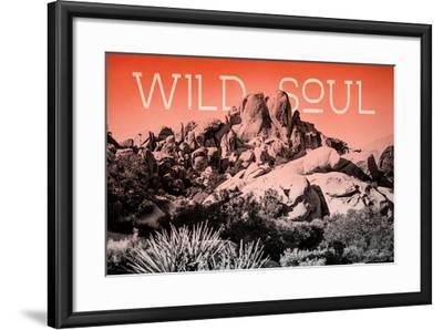 Ombre Adventure II Wild Soul-Elizabeth Urquhart-Framed Photo