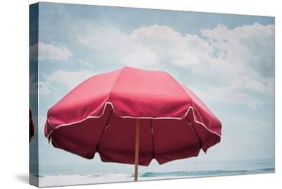 Beach Bliss I-Elizabeth Urquhart-Stretched Canvas Print