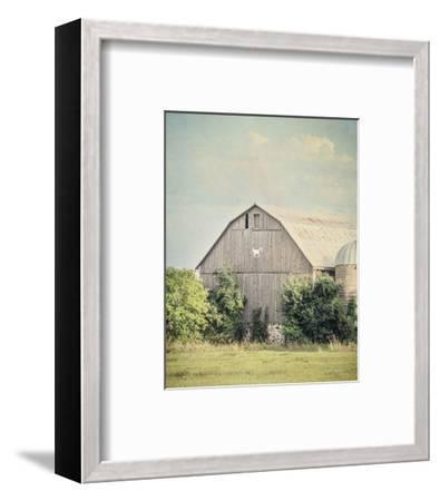 Late Summer Barn II Crop-Elizabeth Urquhart-Framed Photo