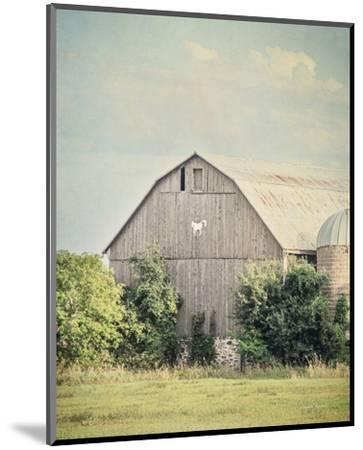 Late Summer Barn II Crop-Elizabeth Urquhart-Mounted Photo