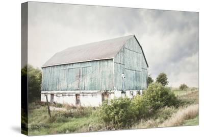 Late Summer Barn I Crop-Elizabeth Urquhart-Stretched Canvas Print