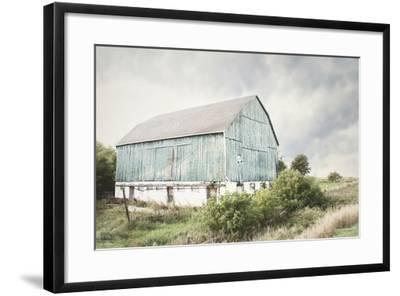 Late Summer Barn I Crop-Elizabeth Urquhart-Framed Photo