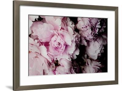 Peonies Galore I-Elizabeth Urquhart-Framed Photo