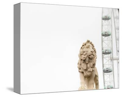 Lion of London-Keri Bevan-Stretched Canvas Print