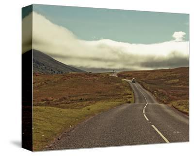 The Open Road-Keri Bevan-Stretched Canvas Print