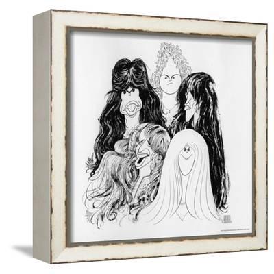 Aerosmith Draw The Line 1977 Poster By Art Com