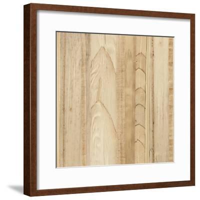 Wood Background I-Wild Apple Portfolio-Framed Art Print