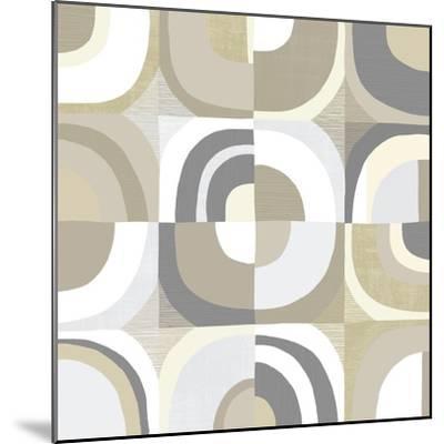 Circle Quartet Achroma-Wild Apple Portfolio-Mounted Art Print