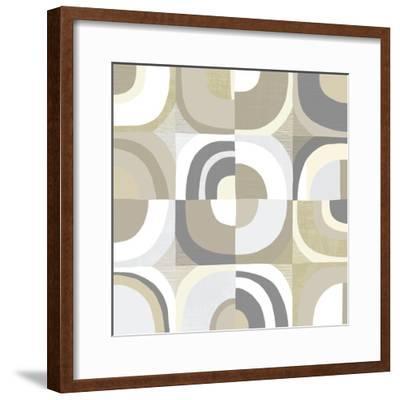 Circle Quartet Achroma-Wild Apple Portfolio-Framed Art Print