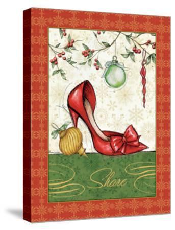 Holiday Fashion II-Andrea Laliberte-Stretched Canvas Print