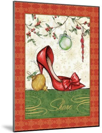 Holiday Fashion II-Andrea Laliberte-Mounted Art Print