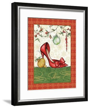 Holiday Fashion II-Andrea Laliberte-Framed Art Print