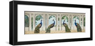 Elegant Peacock I-Wild Apple Portfolio-Framed Art Print