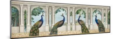 Elegant Peacock I-Wild Apple Portfolio-Mounted Art Print