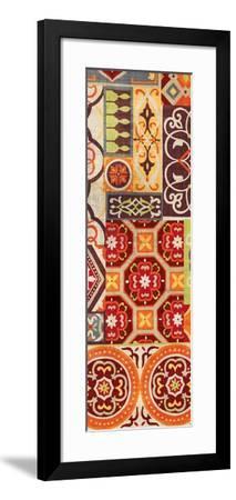 Seville Gypsy Spice Panel II-Wild Apple Portfolio-Framed Art Print