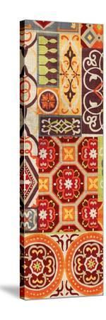 Seville Gypsy Spice Panel II-Wild Apple Portfolio-Stretched Canvas Print