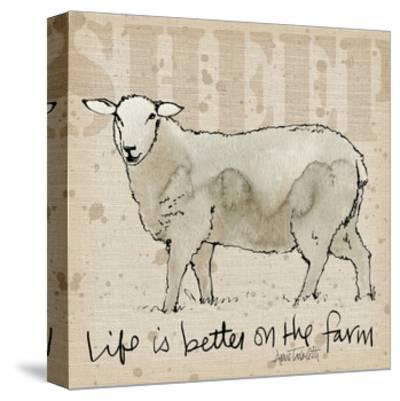 Farm Life IV-Anne Tavoletti-Stretched Canvas Print
