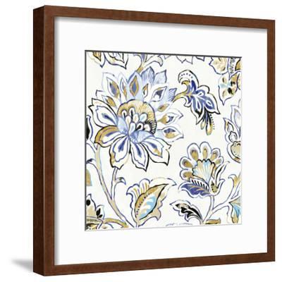 Ceylon Gardens III Black and Gold-Wild Apple Portfolio-Framed Art Print