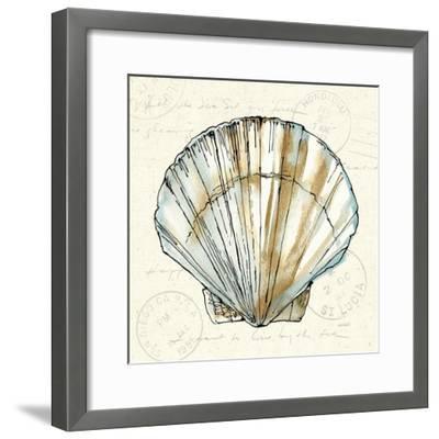Coastal Breeze VII-Anne Tavoletti-Framed Art Print