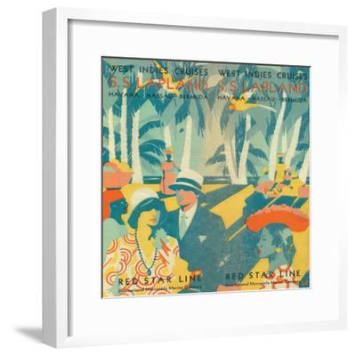 Vintage Travel Brochure VI-Wild Apple Portfolio-Framed Art Print