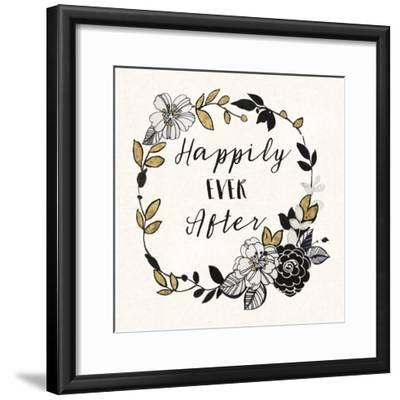 Dream Garden Inspiration I-Wild Apple Portfolio-Framed Art Print