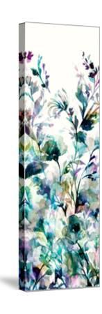 Transparent Garden II Panel I-Wild Apple Portfolio-Stretched Canvas Print