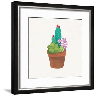 Succulent Pot II-Wild Apple Portfolio-Framed Art Print