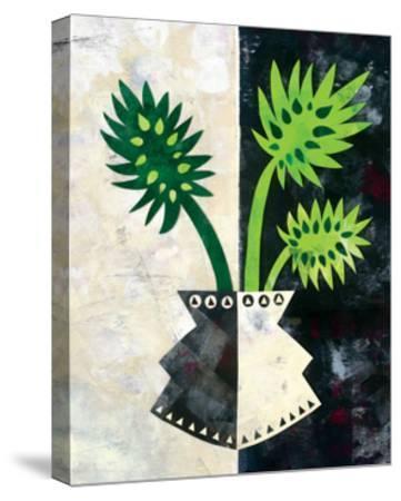 Pretty Palms III-Wild Apple Portfolio-Stretched Canvas Print