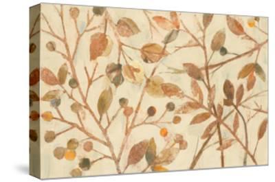 Shimmering I Neutral-Albena Hristova-Stretched Canvas Print