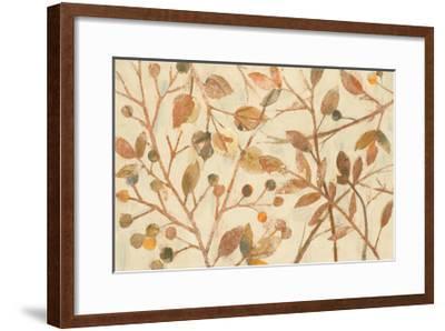 Shimmering I Neutral-Albena Hristova-Framed Art Print