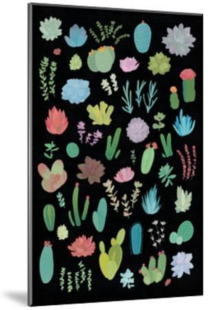 Succulaen Chart 1-Wild Apple Portfolio-Mounted Art Print