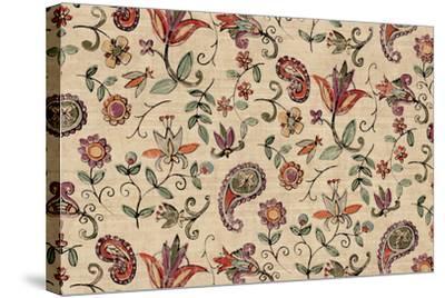 Pretty Paisley I-Anne Tavoletti-Stretched Canvas Print