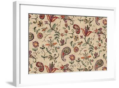 Pretty Paisley I-Anne Tavoletti-Framed Art Print