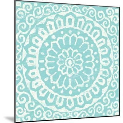 Amadora Blue - Tile VI-Wild Apple Portfolio-Mounted Art Print