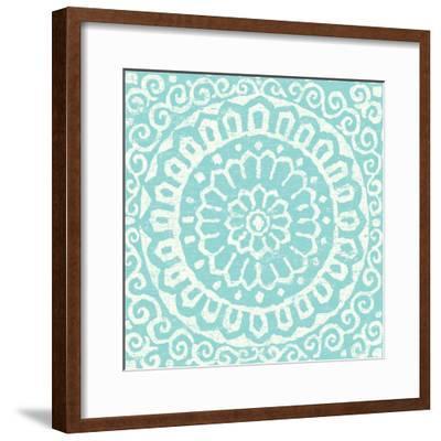 Amadora Blue - Tile VI-Wild Apple Portfolio-Framed Art Print
