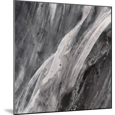 Dark Grey Splash-Albena Hristova-Mounted Art Print