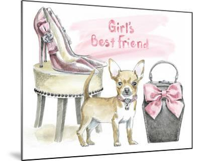 Glamour Pups VI-Beth Grove-Mounted Art Print