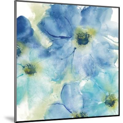 Seashell Cosmos I White-Chris Paschke-Mounted Art Print